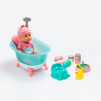 bebe-con-banera-azul-con-sonido-musica-y-accesorios-34-cms-6902083800024