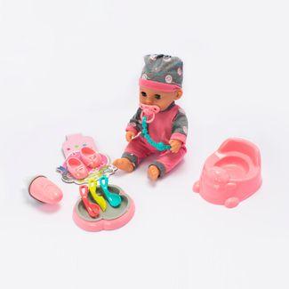 bebe-con-pijama-y-gorro-color-rosa-con-gris-con-accesorios-29-cms-6902083800093