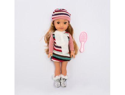muneca-con-vestido-y-gorro-a-rayas-con-botas-y-bufanda-36-cms-6902083800116