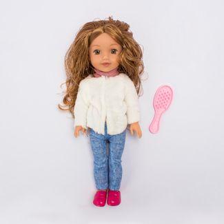 muneca-con-jean-y-chaqueta-blanca-con-peine-de-cabello-36-cms-6902083800185