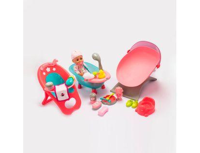 bebe-con-banera-silla-cuna-mecedora-y-accesorios-37-cms-6902083800253
