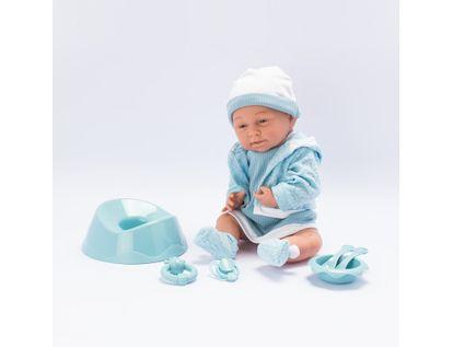 bebe-con-vestido-y-chaqueta-color-azul-con-accesorios-38-cms-7701016033589