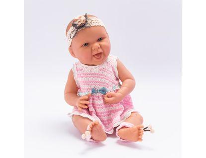 bebe-con-vestido-rosa-y-mono-azul-40-cms-7701016033626