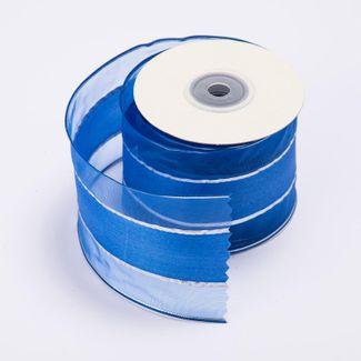 cinta-de-poliester-6-4-cms-x-9-mts-color-azul-con-lineas-plateadas-7701016017862