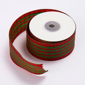 cinta-de-poliester-3-8-cms-x-9-mts-color-traslucido-diseno-cuadros-verdes-y-rojos-7701016017930