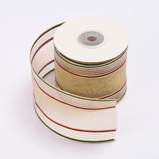 cinta-de-poliester-6-4-cms-x-9-mts-color-beige-con-lineas-doradas-y-cafes-7701016018159
