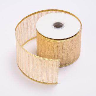 cinta-de-poliester-6-4-cms-x-9-mts-color-beige-con-lineas-doradas-7701018017655