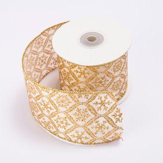 cinta-de-poliester-6-4-cms-x-9-mts-color-dorado-con-copos-dorados-7701018017785