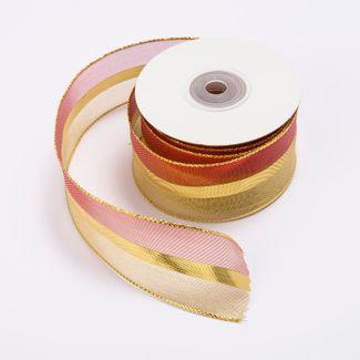 cinta-de-poliester-3-8-cms-x-9-mts-color-rojo-con-dorado-7701016018142