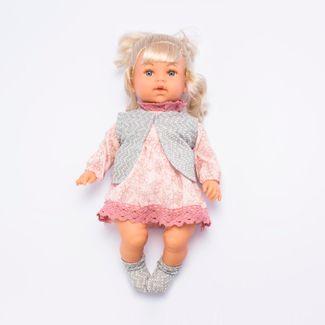 muneca-con-vestido-rosado-de-flores-y-chaleco-gris-46-cms-6902083800291