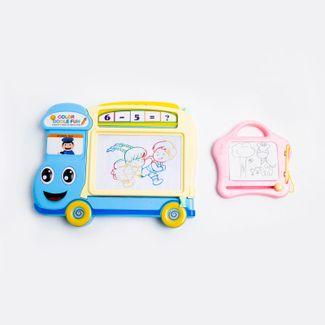 tablero-magico-magnetico-en-forma-de-camion-color-azul-y-rosado-7701016033022