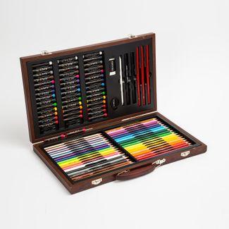 set-de-arte-para-dibujo-106-piezas-con-maletin-en-madera-art-101-673468531067