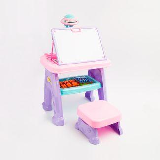 mesa-con-tablero-y-proyector-2-en-1-con-6-discos-y-accesorios-color-rosado-con-lila-6921194538800
