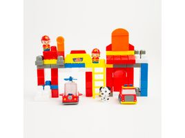 set-de-bloques-armables-diseno-estacion-de-bomberos-63-piezas-6926501030800