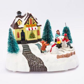 villa-nevada-tienda-de-arboles-con-hombre-de-nieve-14-cms-con-movimiento-y-luz-84495120818