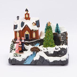 villa-nevada-iglesia-con-arbol-y-coro-16-5-cms-con-movimiento-luz-y-sonido-84495120849