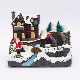 villa-nevada-14-cms-santa-y-pista-de-patinaje-con-movimiento-luz-y-sonido-84495120856