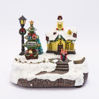 villa-nevada-19-cms-iglesia-con-arbol-welcome-con-luz-sonido-y-movimiento-84495121211