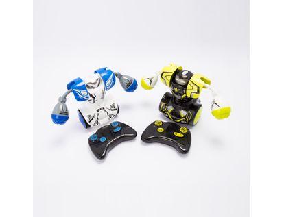 Robot-Robo-Kombat-x-2-unidades-verde-y-blanco-4891813880523