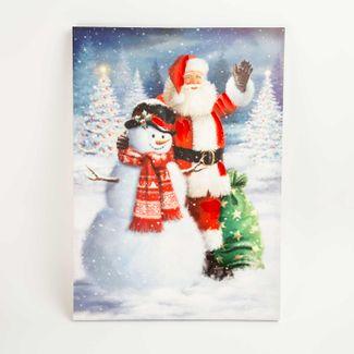 Cuadro-navideño-70-x-50-cm-santa-con-hombre-nieve-7701018027982