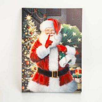 Cuadro-navideño-70-x-50-cm-santa-con-bolsa-de-regalos-7701018027999