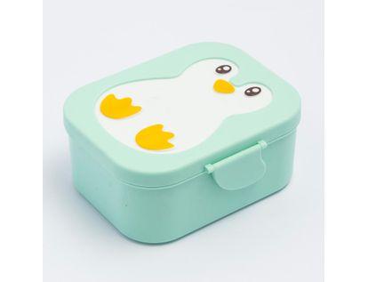 recipiente-para-comida-color-verde-claro-15-5-cm-x-7-x-13-5-cms-diseno-pinguino-7701016025706