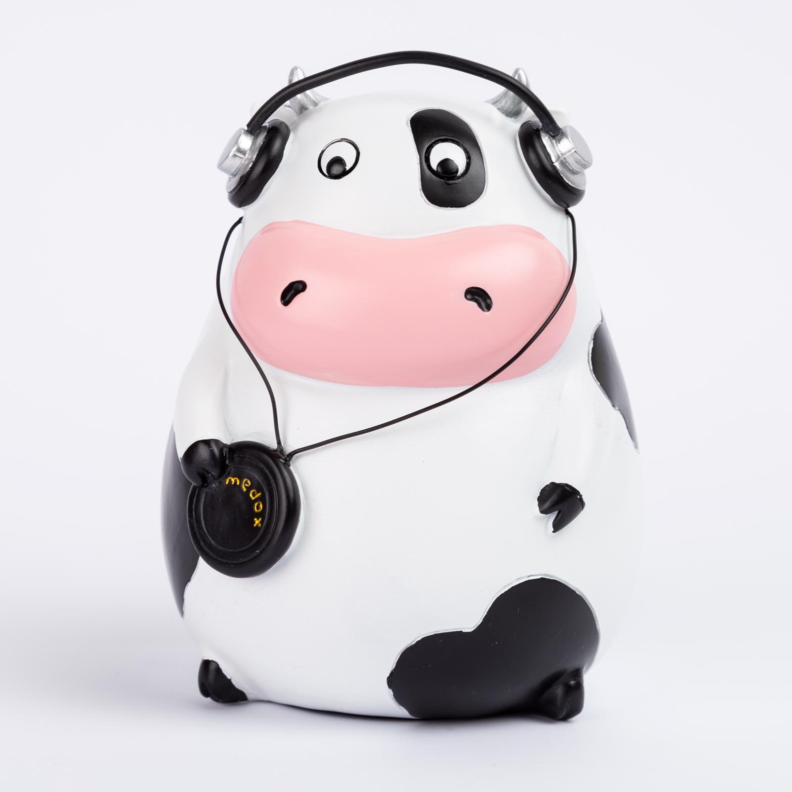 altavoz bluetooth de 3w rms, diseño vaca