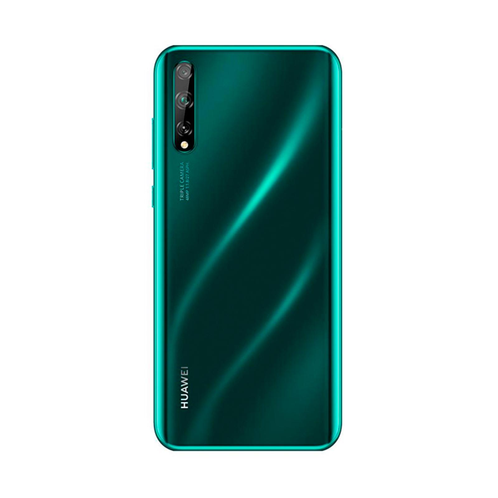 celular huawei y8p, 128 gb, ram 4 gb, triple cámara: 48 mpx. + 8 mpx. + 2 mpx.