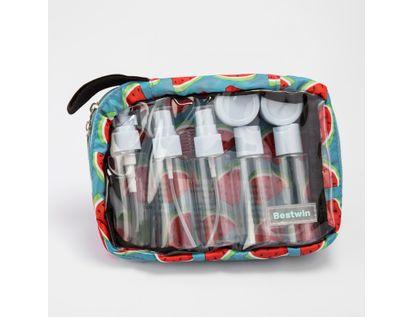 set-de-recipientes-para-viaje-con-11-piezas-en-estuche-color-aguamarina-7701016998864