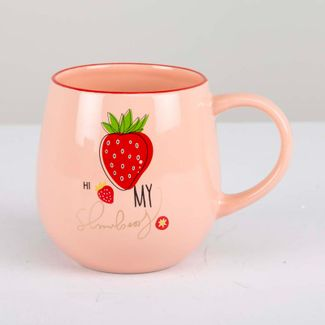 mug-18-oz-hi-my-strawberry-color-rosado-611032