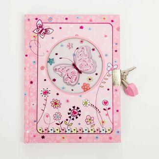 diario-con-llave-diseno-mariposa-y-flores-7701016019101