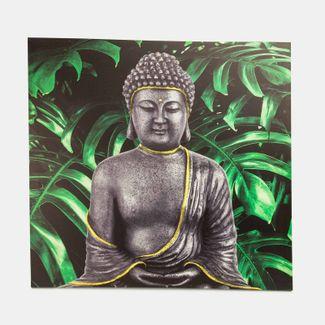 cuadro-canvas-59-5-x-60-cm-buda-sentado-con-hojas-monstera-7701018027890