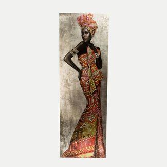 cuadro-canvas-africana-con-vestido-largo-naranja-y-piedras-7701016750882