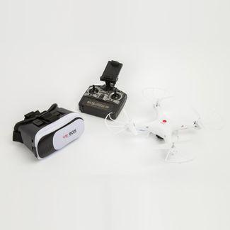 dron-con-camara-cyber-sky-blanco-con-gafas-vr-611324