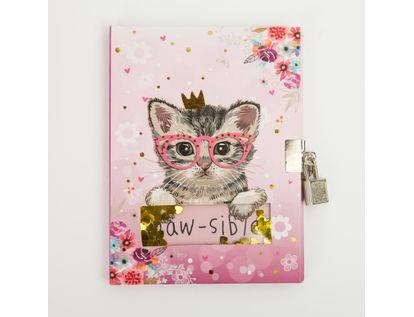 diario-con-llave-diseno-gato-con-corona-y-corazones-7701016018975