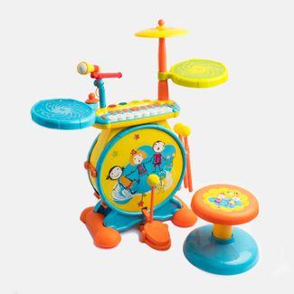 bateria-infantil-con-microfono-y-sonido-amarillo-azul-612295