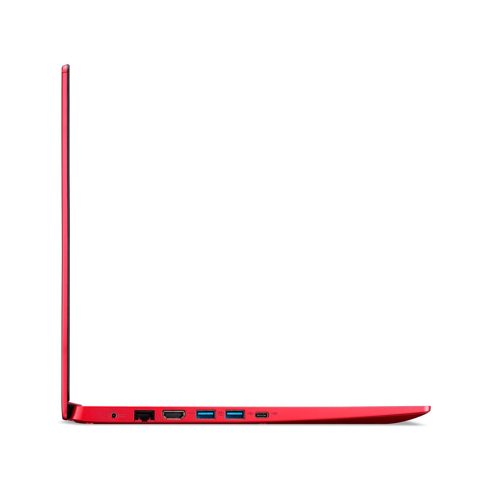 "portátil acer intel core i3 1005g1, ram 8 gb, 256 gb ssd, a515-55-34dv, 15.6"", rojo"