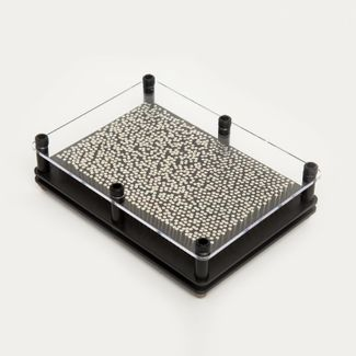 pinart-rectangular-3d-de-17-5-cm-x-13-cm-color-negro-con-plateado-6921079924803