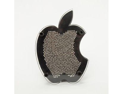 pinart-3d-de-18-cm-x-12-cm-diseno-de-manzana-color-negro-con-plateado-6921079926807