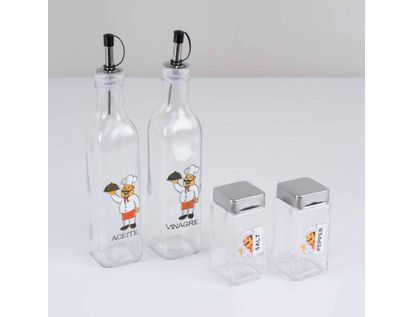 set-x-4-piezas-condimenteros-chef-7701016835565