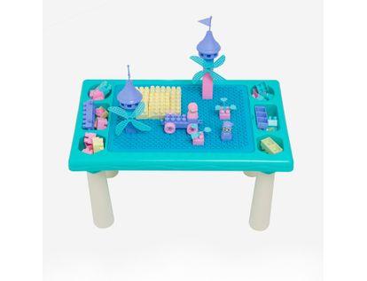 set-de-bloques-con-mesa-color-verde-marino-con-beige-6921215555809