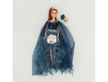 muneca-emily-30-cm-vestido-con-velo-azul-7701016040907