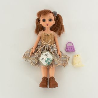 muneca-mulisha-30-cm-con-vestido-plateado-y-mascota-7701016041232