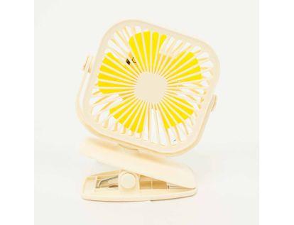 ventilador-de-mesa-con-clip-cuadrado-con-luz-amarilla-color-beige-7701016133074