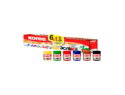 pintura-acrilica-kores-6-1-unidades-20ml-kores-9023800727275