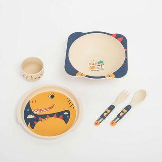 set-de-vajilla-infantil-x-5-piezas-diseno-dragon-7701016021463