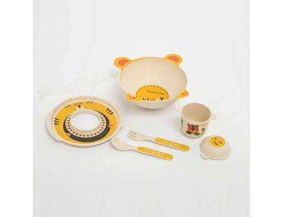set-de-vajilla-infantil-x-5-piezas-diseno-tigre-7701016021524