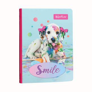 cuaderno-a-rayas-cosido-de-100-hojas-diseno-funny-pets-smile-7702124510788