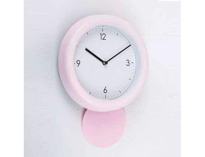 reloj-de-pared-de-18-8-cms-con-pendulo-solo-4-numeros-color-rosado-614127