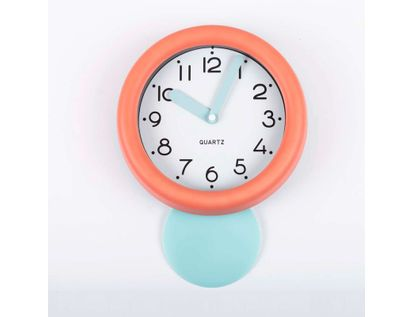 reloj-de-pared-de-18-8-cms-con-pendulo-y-manecillas-gruesas-color-rojo-calido-614129